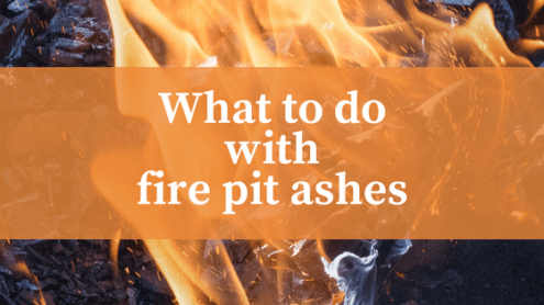 Disposing Of Fire Pit Ashes