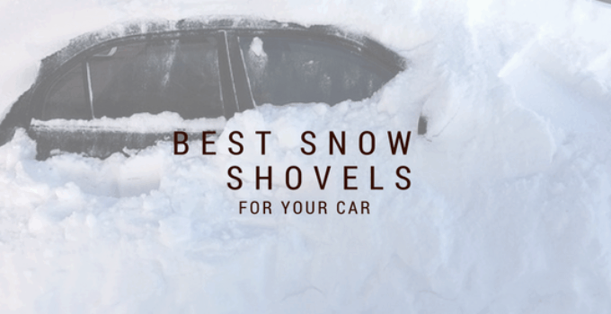 emergency snow shovel for car