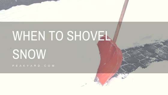 Waiting To Shovel Snow Until It Stops >> Should You Shovel Snow While It Is Still Snowing Peak Yard