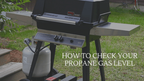Check Grill Propane Level
