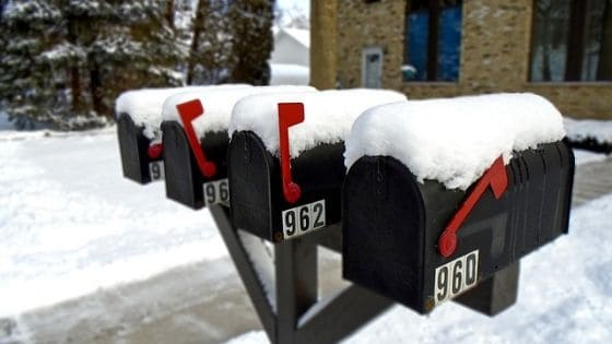 Red Mailbox flags