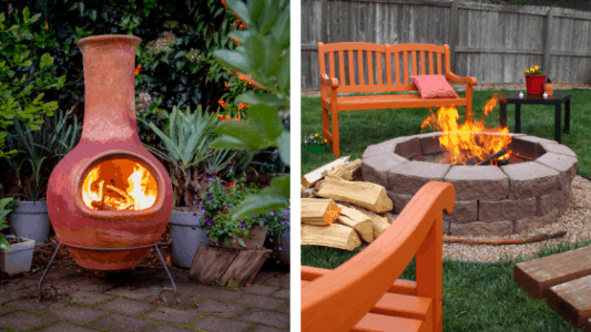 Chiminea vs Fire Pit - What's the Difference? | Peak Yard