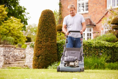 Can You Push A Self Propelled Mower?